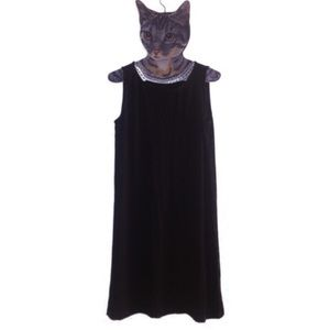 Eileen Fisher black summer dress PM
